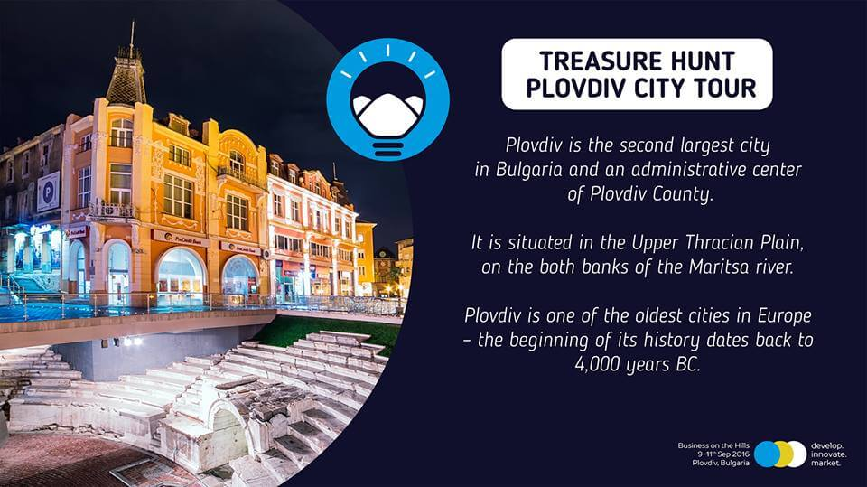 Treasure Hunt Plovdiv Tour