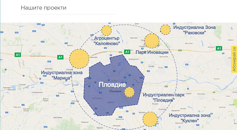 интерактивна карта